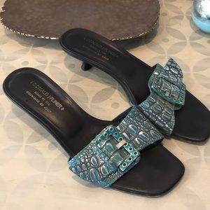 Donald J Pliner Kazia Open Toe Sandal Size 8.5